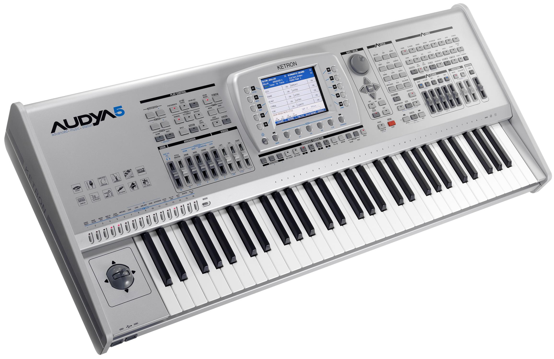 ketron audya 5 arranger keyboard factory refurbished direct from ketron uk ebay